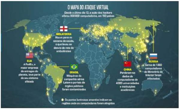 O Mapa do Ataque Virtual