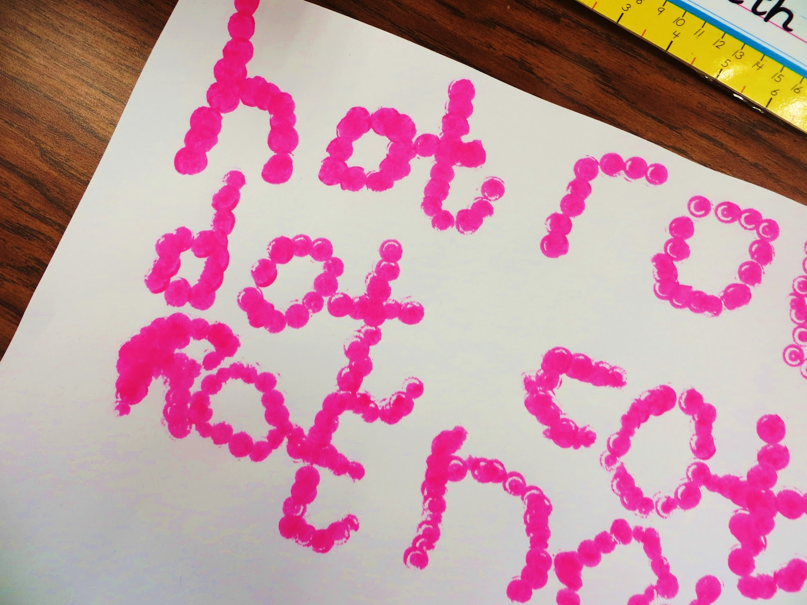 First Grade Wow: Lollipops And Dots- Short O Rocks