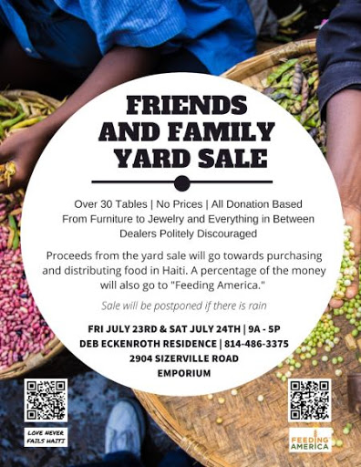 7-23/24 Friends And Family Yard Sale In Emporium