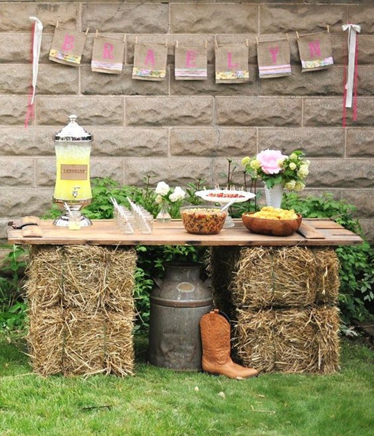 chic vintage fall wedding guest book display cowboy