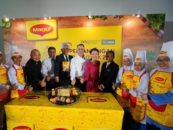 MAGGI® & KPM Mulakan Pencarian Chef Muda Berbakat - Lancarkan Pertandingan Memasak Sekolah Menengah MAGGI® Ke-23