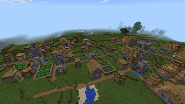 10 Awesome and Coolest Minecraft PE Seeds - Anvinus Minecraft