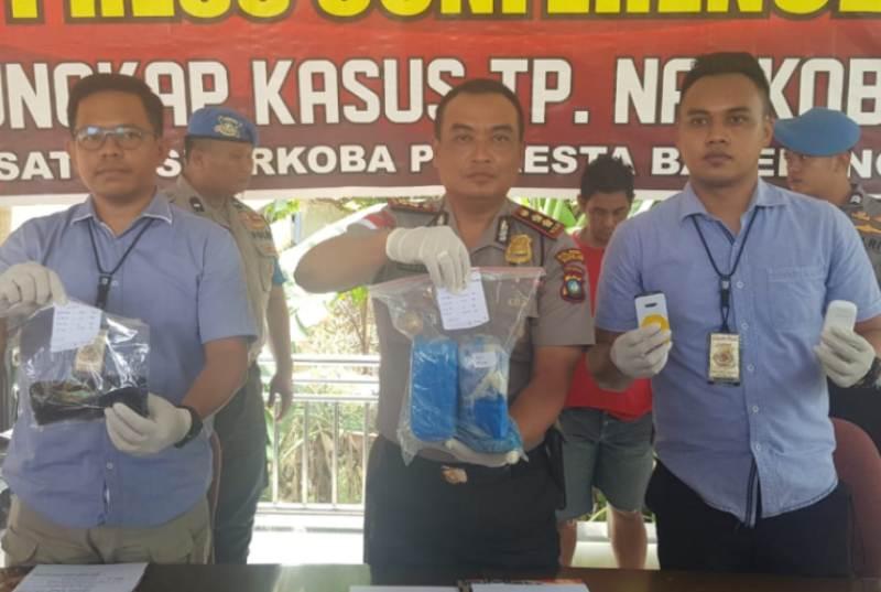 Sat Narkoba Polresta Barelang Berhasil menangkap 2,3 Kg Sabu