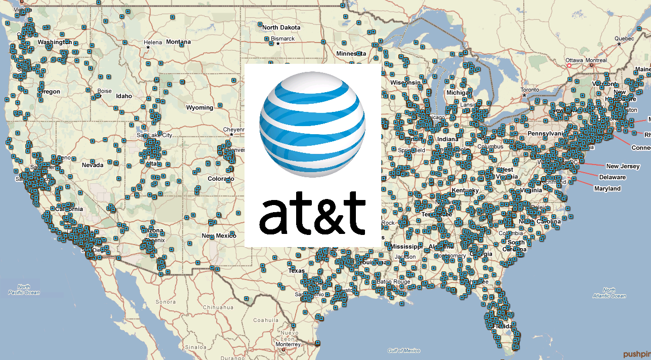 ATT Service Plans And Coverage Review - Att cell map