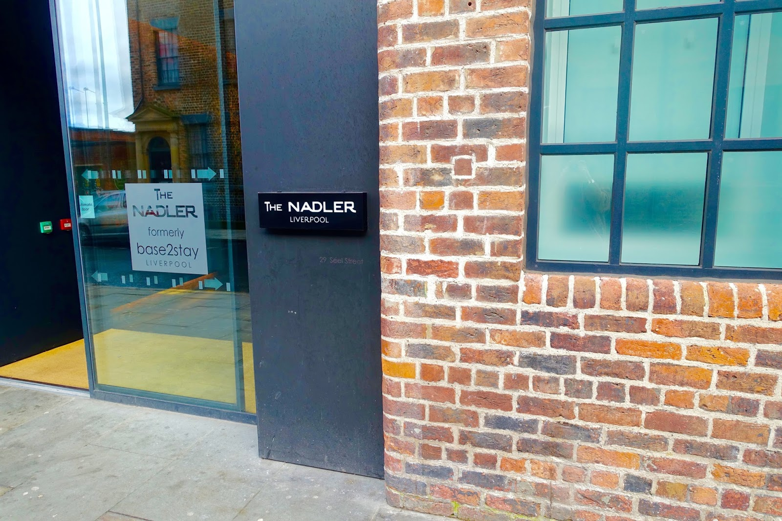 The nadler liverpool entrance
