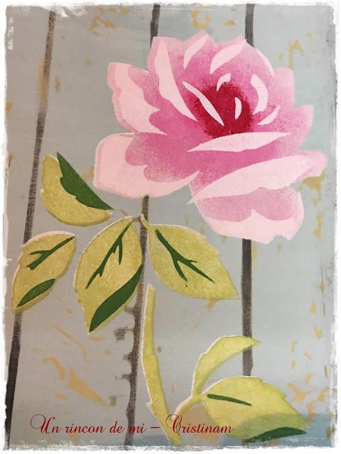 Un Rincón De Mi Rosa Grandepaso A Paso Como Pintar Flores Con