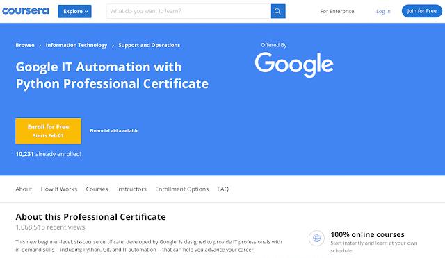 google-it-automation-coursera