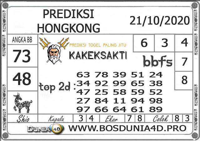 Prediksi Togel HONGKONG DUNIA4D 21 OKTOBER 2020