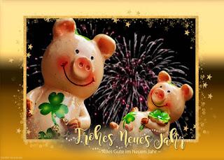 Schweinchen Neujahr