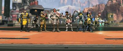 personajes en apex legends