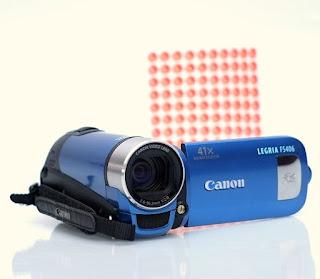 Jual handycam Canon Legria FS406e Bekas