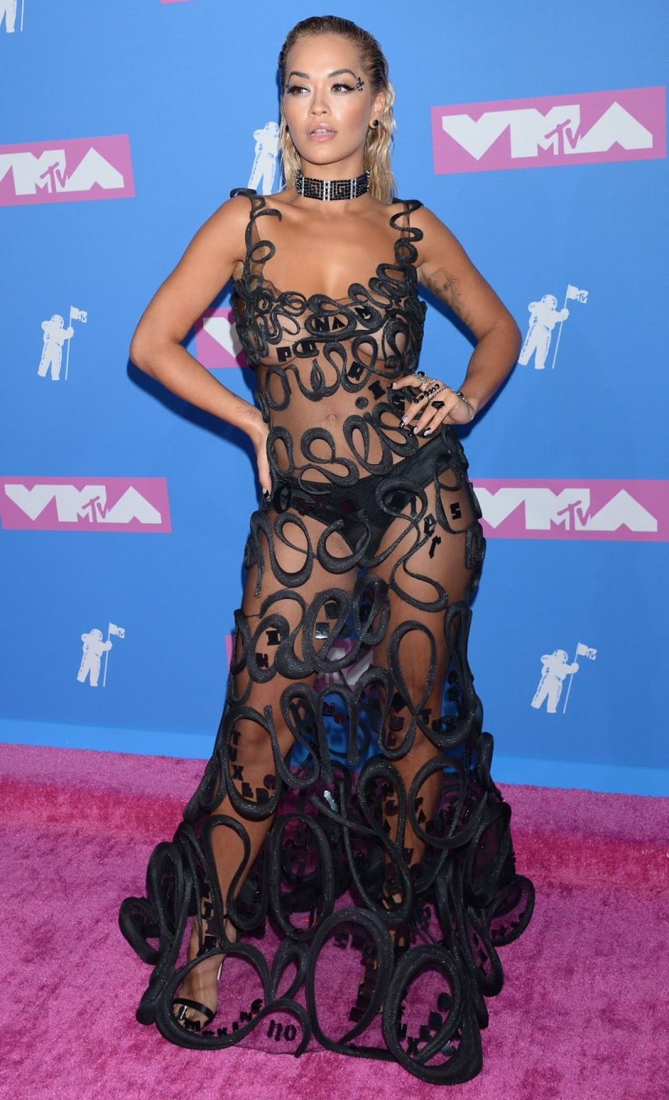 Rita Ora – 2018 MTV Video Music Awards at Radio City Music Hall in NYC