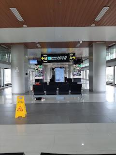 Sky train terminal 2 bandara soekarno hatta