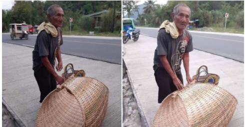 102- anyos na Lolo patuloy na nagtitinda at nagbubuhat ng duyan
