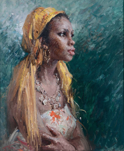 Clemente Tafuri - Ritratto di Abissina