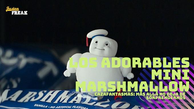 Cazafantasmas: Más allá ya tiene sus propios Baby Yoda, llegan los adorables Mini Marshmallows