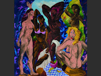 Exposition Picasso Mania - Grand Palais - Les demoiselles d'Alabama - Robert Colescott