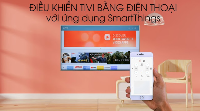 Smart Tivi Samsung 4K 43 inch UA43NU7100KXXV
