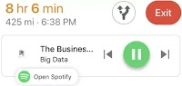 Controllare la Musica in Google Maps sul navigatore