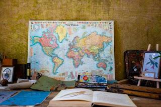 World Map - Photo by Nicola Nuttall on Unsplash