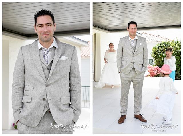 reportage photos découverte des mariés