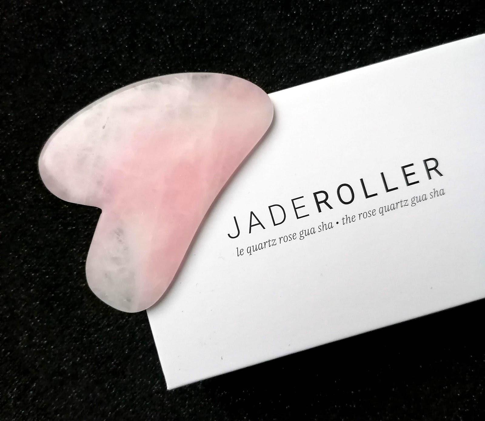 JADE ROLLER : la découverte du roller et du gua sha en QUARTZ ROSE! 💆🏽♀️