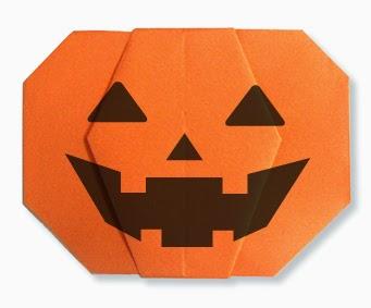 3d origami pumpkin instructions
