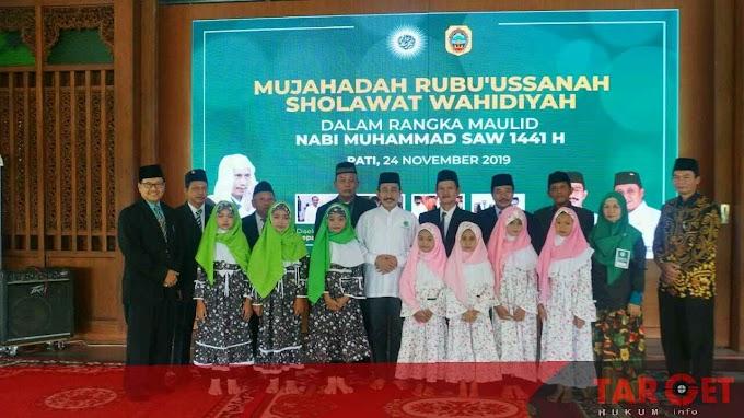 Bupati Haryanto : Peringatan Maulid Nabi Muhammad SAW Jadi Ajang Silahturahmi Warga