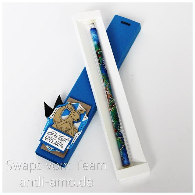Stampin Up Team-Swaps andi-amo Verpackung Stift