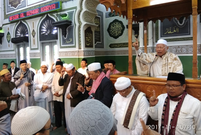 Ikrar Ulama di Al Azhar, tak akan Dukung Parpol Pendukung Perppu Ormas