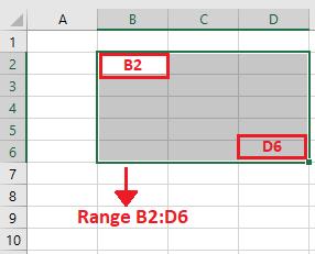 contoh range di microsoft excel