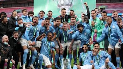 Manchester City Juara Carabao Cup, Aguero Cadangan Mati dan Sukses Pep Guardiolla