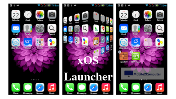 xOS Launcher - iPhone Launcher for Android
