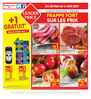 Catalogue Leader Price - 30 Mai au 04 Juin 2017