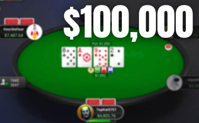 How to Make $100,000 a Year From Poker