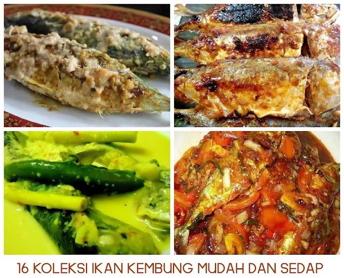 16 Himpunan Resepi Ikan Kembung Simple Dan Sedap