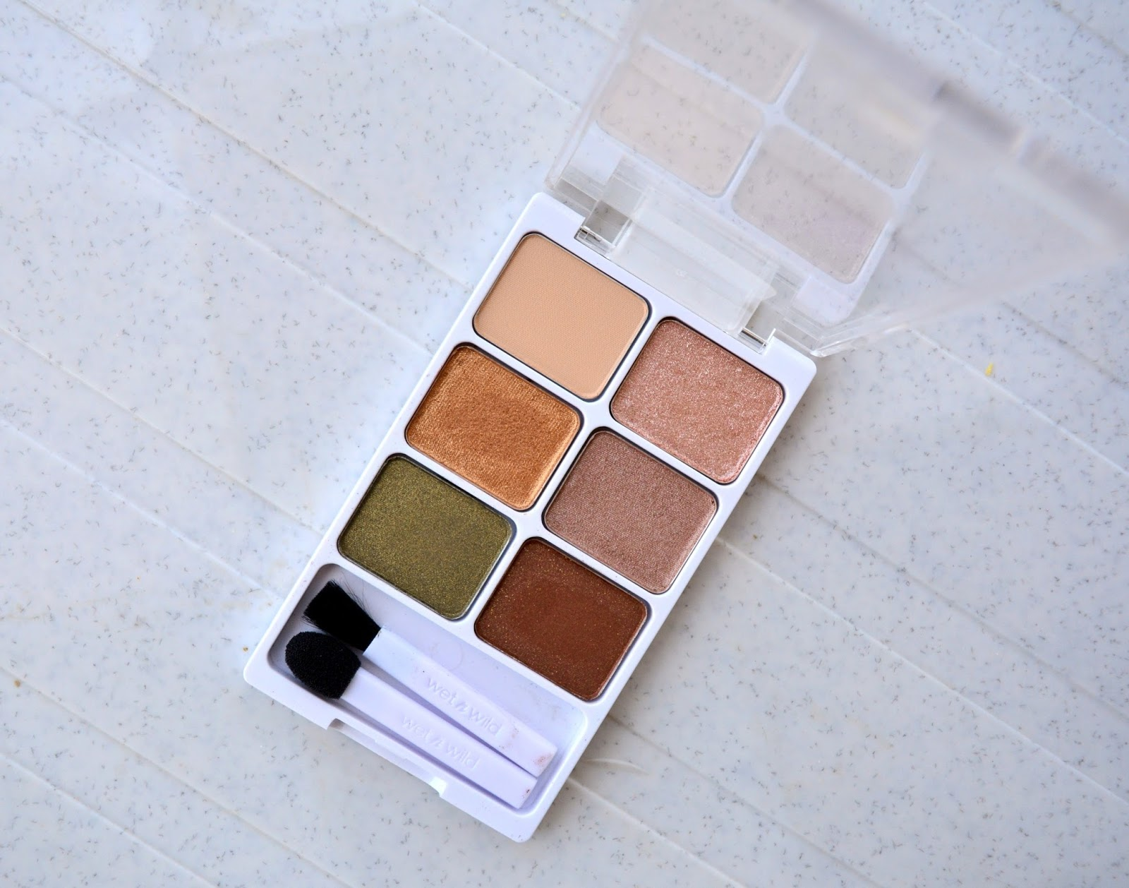 Wet n Wild Color Icon Eyeshadow Palette 'Vinyl Collection' Review, Swatch, Fotd