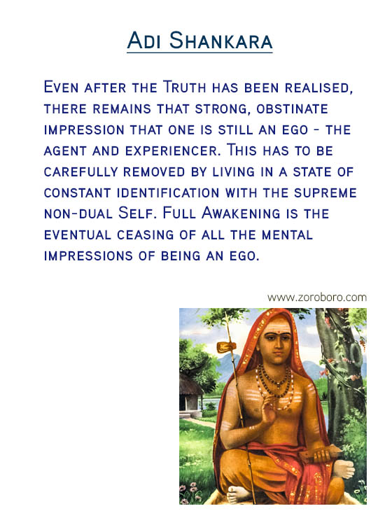 Adi Shankara Quotes. Reality Quotes, Understanding Quotes, Self, Knowing Quotes,Meditation Quotes & Happiness Quotes. Adi Shankara Philosophy / Adi Shankara Teachings, Inspirational Quotes; motivational quotes, positive quotes, Believe Quotes, hindi quotes, hindi, hindi student quotes, hindi , words, essay