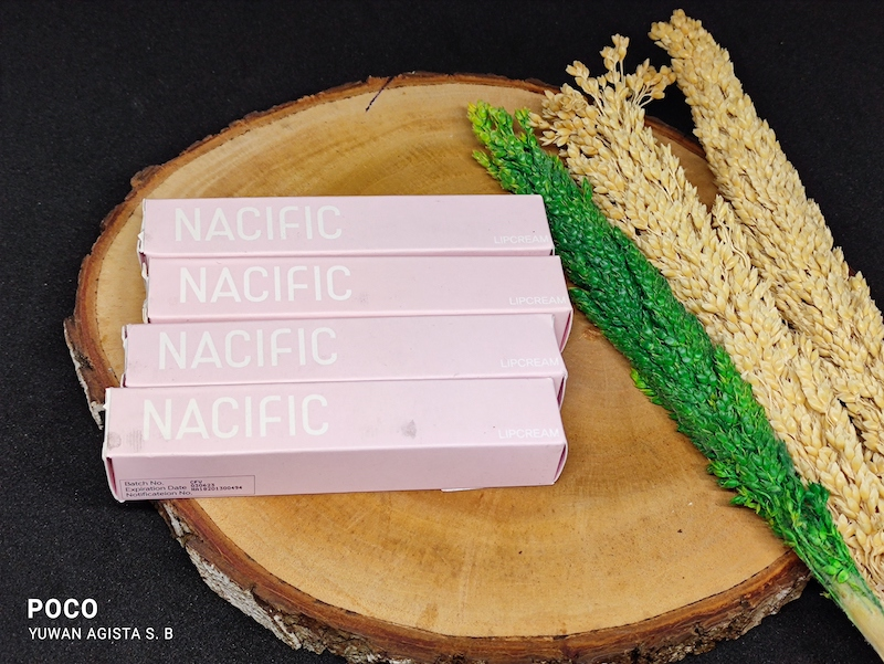 Review Daily Mood Nacific Lip Cream, Hadirkan Warna Natural yang Tahan Lama
