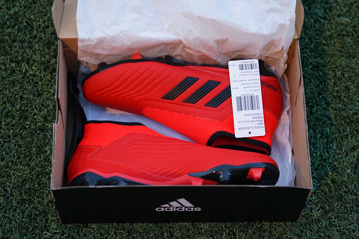 26e14b598985 The lower-tier next-gen Adidas Predator 19 is first-ever low priced laceless  Adidas football boot.