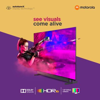 50% Offer on Motorolo TV