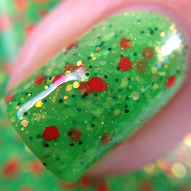 Poetry Cowgirl Nail Polish-Poison Apple