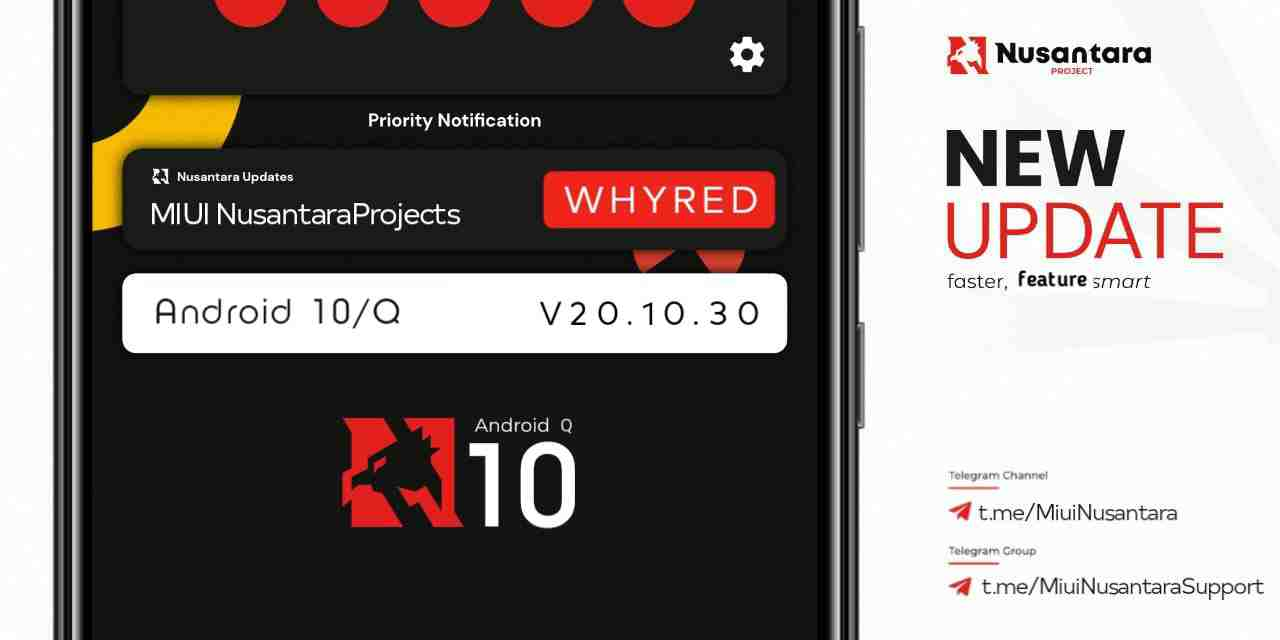 MIUI Nusantara for Redmi Note 5   Whyred