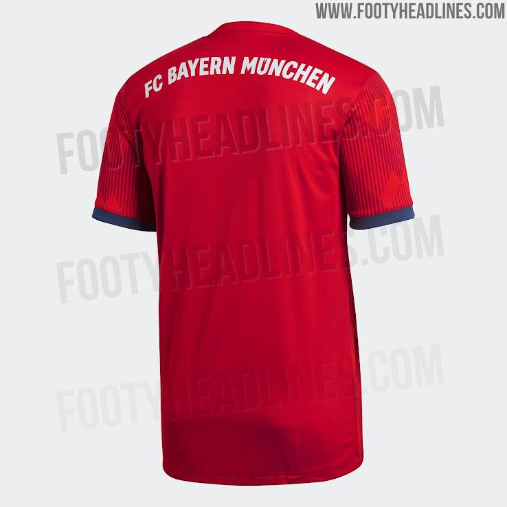 39ecc116025 Bayern München 2018-2019 Home Kit. This is the Bayern Munich 18-19 home  shirt. +1. 2 of 2