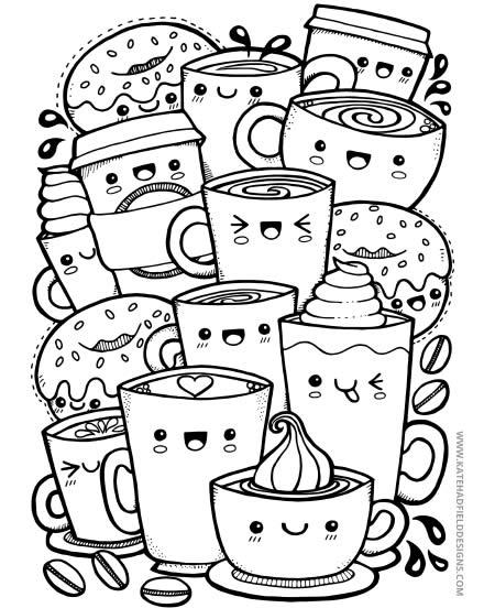 Portal Crescer Blog Infantil Desenhos Kawaii Para Imprimir E