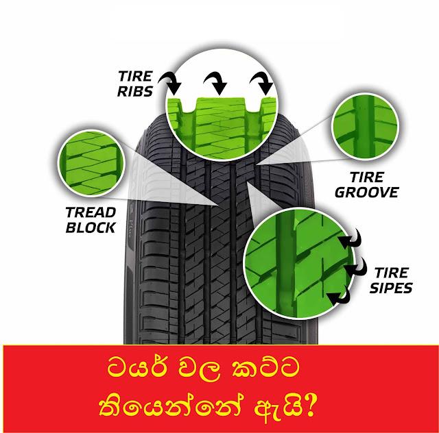 ටයර් වල කට්ට තියෙන්නේ ඇයි? ( ඝර්ශනයට නම් නෙවේ) (Why Do Tires Have Slips?) - Your Choice Way