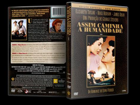 Capa DVD Assim Caminha a Humanidade