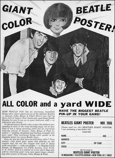 Teen magazine ad -- Beatles