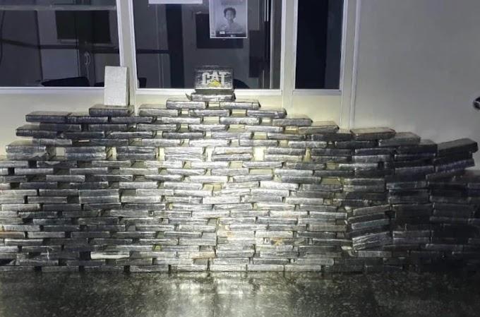 Rotam apreende 28 quilos de pasta base de cocaína em Paranaguá