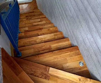 papan tangga kayu murah